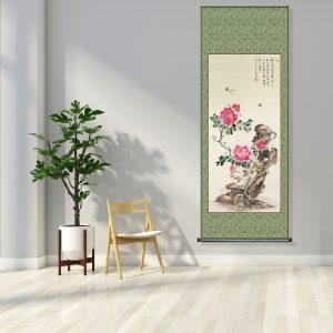 chinese painting peony